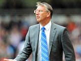 Reading manager Nigel Adkins during the Premier League match against West Ham on May 19, 2013