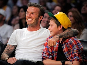 Beckham spends day on horse ranch
