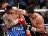 Carl Froch in action against Mikkel Kessler on May 25, 2013