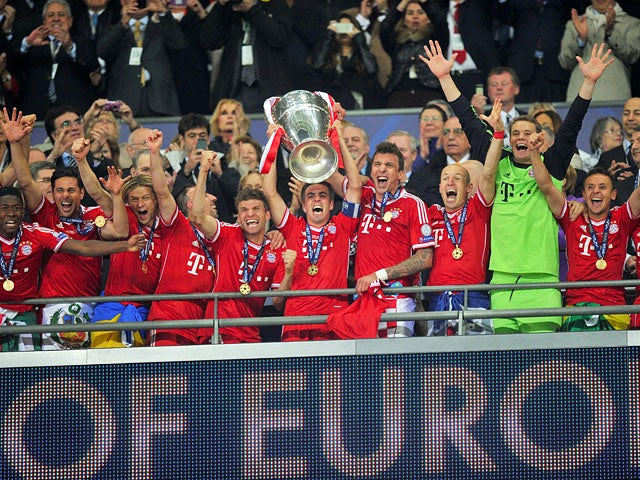 Result: Bayern Munich win the Champions League