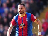 Crystal Palace's Damien Delaney in action on April 6, 2013