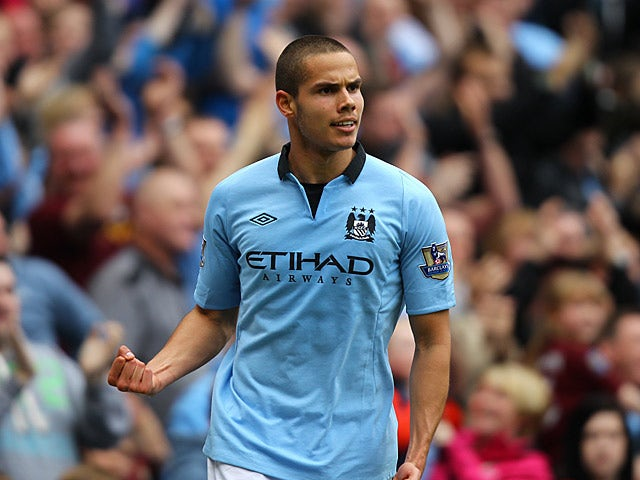 Manchester City's Jack Rodwell in action on May 19, 2013