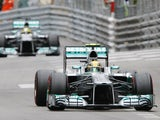 Mercedes driver Nico Rosberg during the qualifying for the Monaco Grand Prix on May 25, 2013