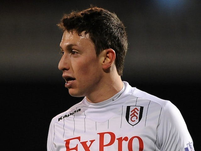Fulham's Omri Altman in action against Chelsea on March 1, 2013
