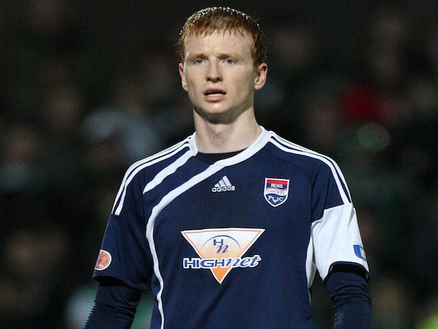 Ross County's Scott Boyd playing against Hibs on March 23, 2010