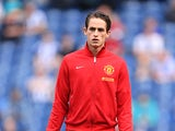 Manchester United's Adnan Januzaj during a warm-up on May 19, 2013