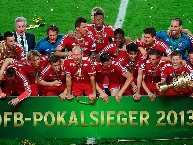 Result: Bayern Munich win the treble