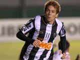 Atletico Mineiro's Bernard in action on February 26, 2013