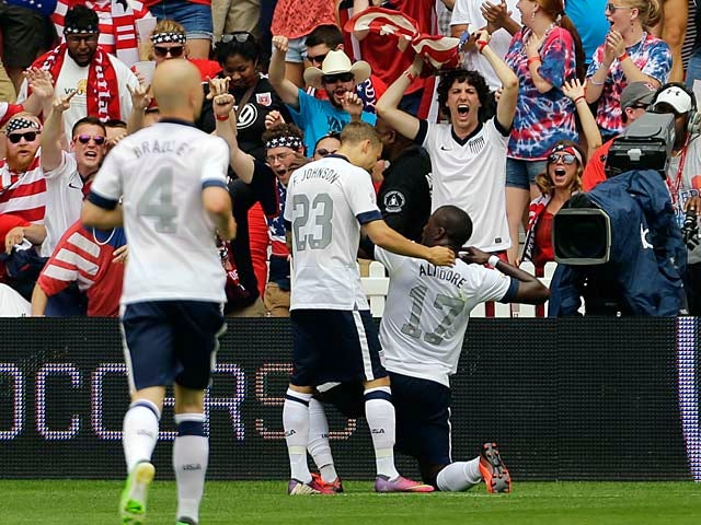 Result: USA defeat Germany in Washington