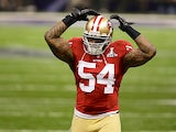 San Francisco 49ers' Larry Grant in action on February 3, 2013
