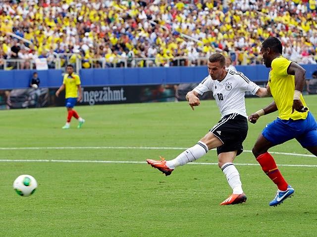 Result: Germany thrash sorry Ecuador