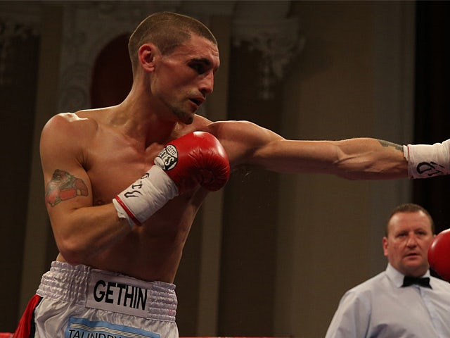 Martin Gethin in action on