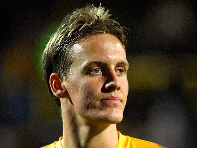 Australia's Michael Thwaite in action on February 6, 2007