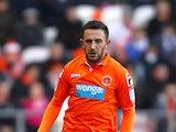 Blackpool's Neil Eardley in action on January 1, 2013