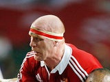 British and Irish Lions' Paul O'Connell in action against the Barbarians on June 1, 2013