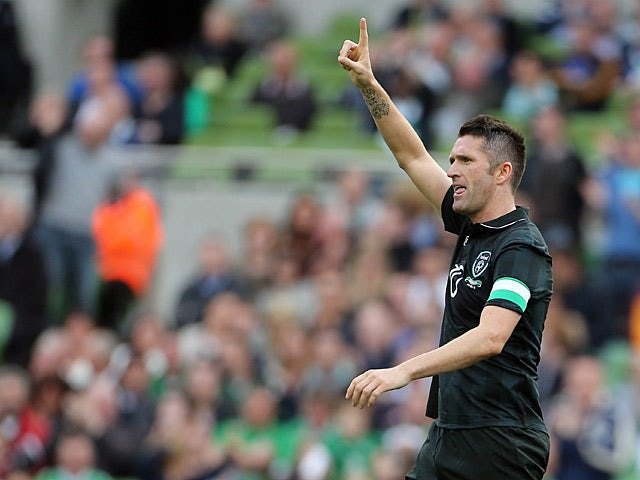 Result: Ireland hit Georgia for four