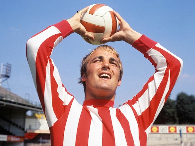 Ron Davies, when playing for Southampton, on August 1, 1969