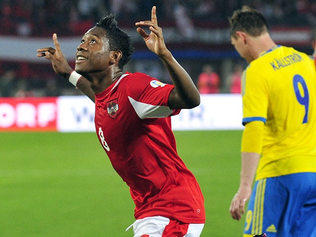 Result: Austria defeat Sweden in Vienna