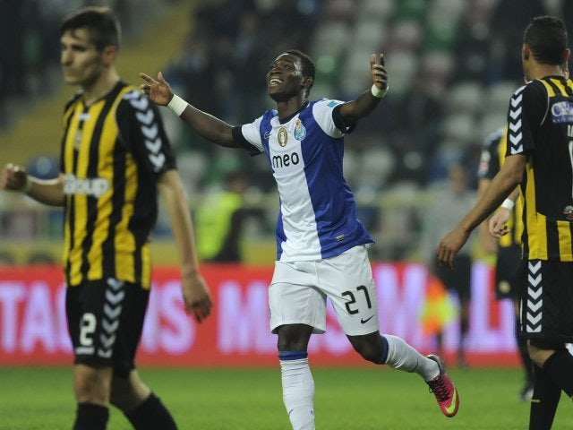 With just 12 months left on his Porto contract, winger Christian Atsu may come cheap.