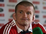 Graham Rowntree during a press conference at Carton House on May 21, 2013
