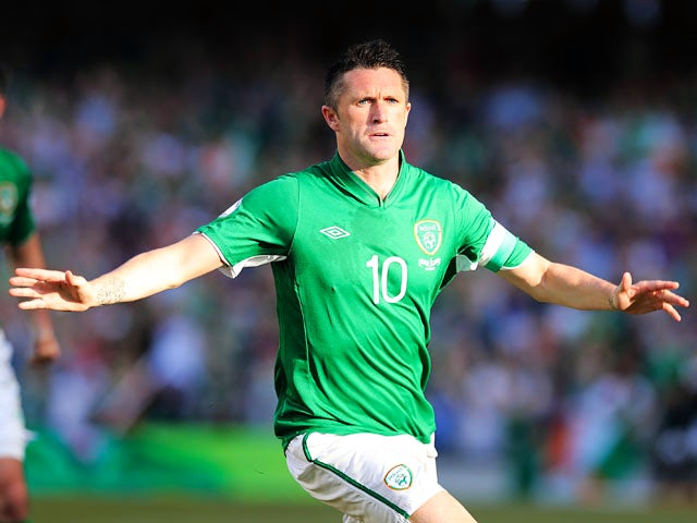 Result: Keane earns Ireland win with hat-trick