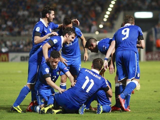 Result: Italy thrash Israel to qualify