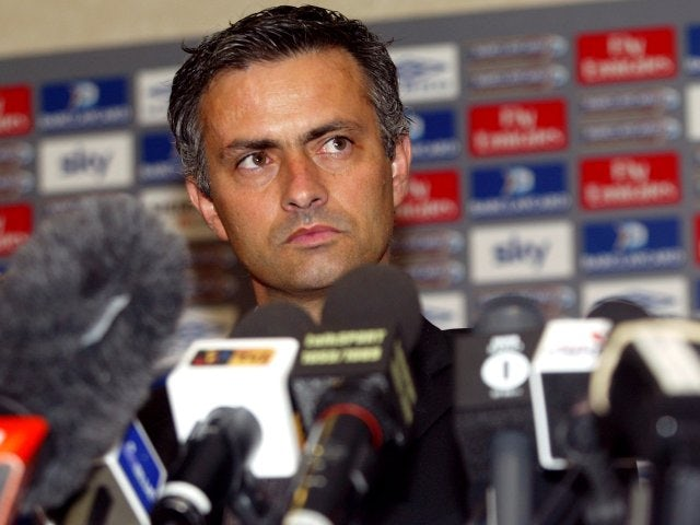 """Arriving from Porto in the summer of 2004, Mourinho tells the English press that he is a """"Special One""""."""