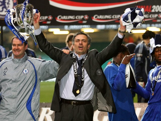 He did however guide Chelsea to success in the final of the League Cup over Arsenal that year.