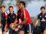 Lions' Manu Tuilagi trains on June 3, 2013