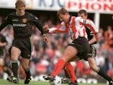 Southampton legend Matt Le Tissier plays against Man Utd on May 8, 1998