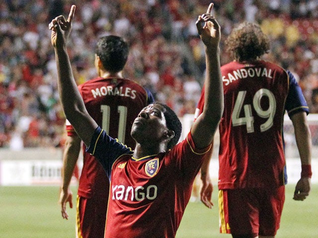 Result: Garcia brace earns win for Real Salt Lake
