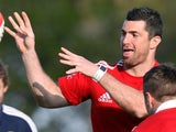 Lions' Rob Kearney during a training session on June 3, 2013