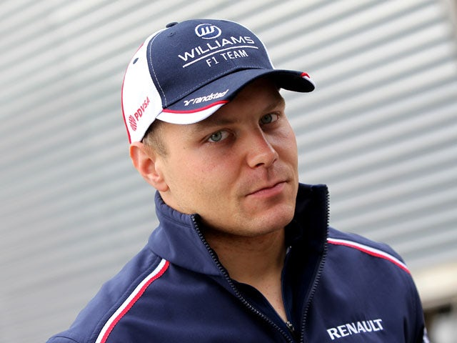 Williams Valtteri Bottas during practice of the Spanish Grand Prix on May 10, 2013