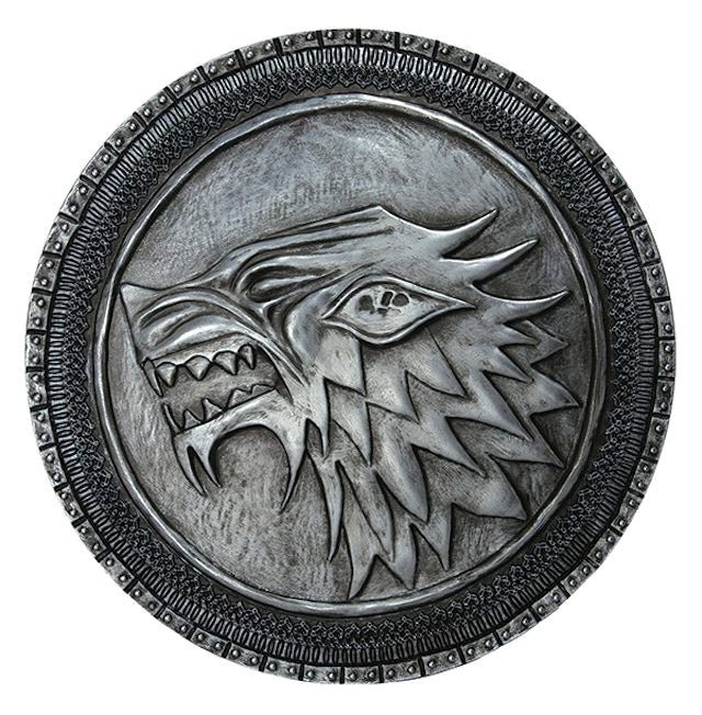 Replica of the Stark shield from Game of Thrones