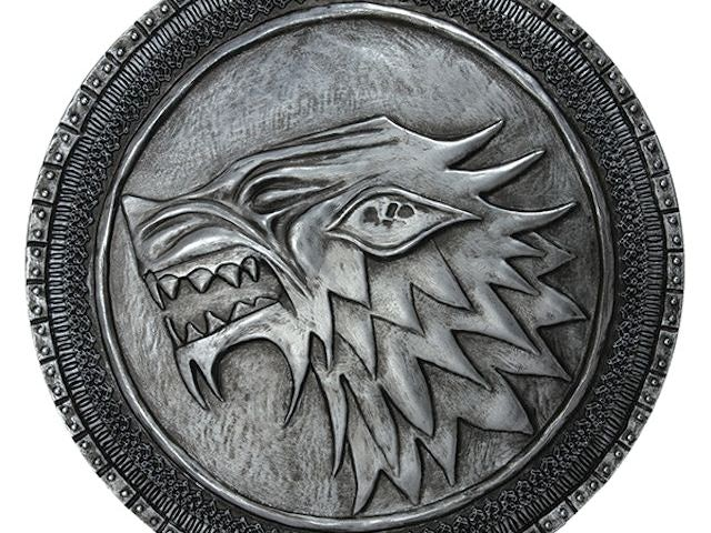 Replica of the Stark shield from Game of Thrones (4x3)
