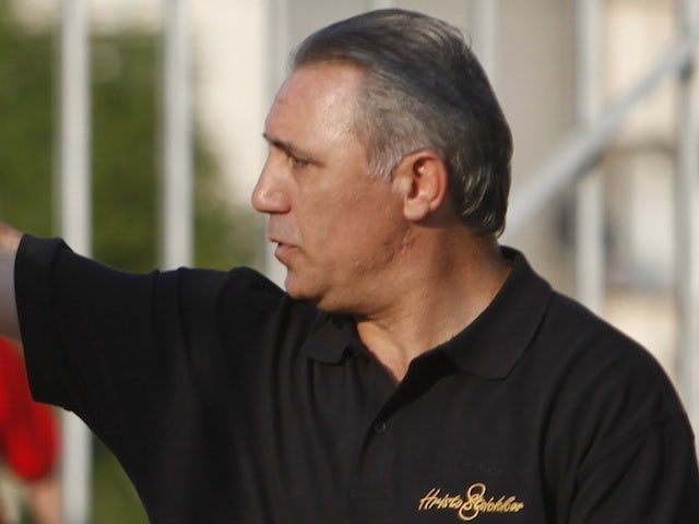 Hristo Stoichkov photographed on August 31, 2011