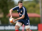 Lions' Justin Tipuric in training on June 7, 2013