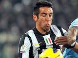 Juventus' Mauricio Isla in action on January 22, 2013