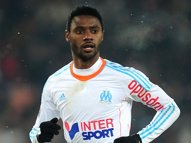 Marseille's Nicolas N'Koulou in action against Rennes on February 24, 2013
