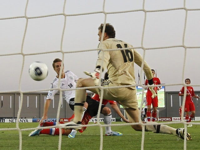 Result: Germany edge out Russia