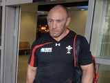 Wales assistant coach Robin McBryde on June 2, 2013
