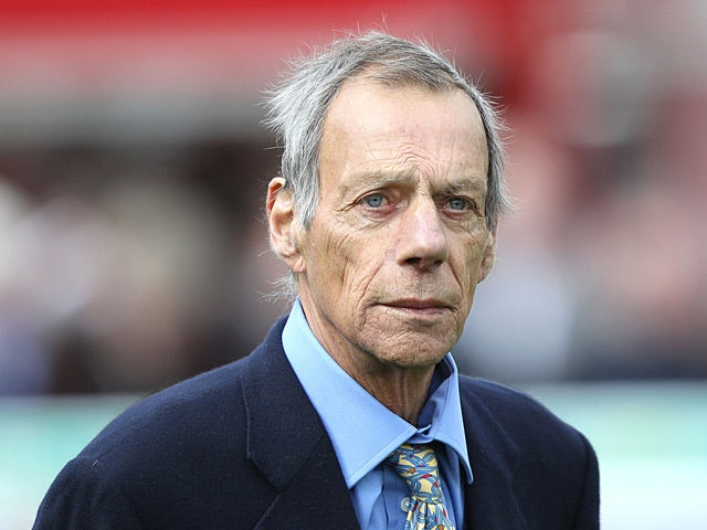 Trainer Sir Henry Cecil on April 27, 2013