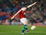 British & Irish Lions' Stuart Hogg in action on June 11, 2013