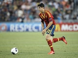 Spain striker Alvaro Morata in action against Italy on June 18, 2013