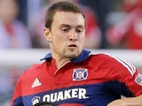 Houston's Austin Berry in action against Colorado Rapids on June 19, 2013