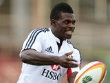 British and Irish Lions Christian Wade during a training session on June 17, 2013