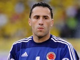 Colombia's goalkeeper David Ospina in action on June 11, 2013