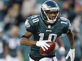 Philadelphia Eagles' DeSean Jackson in action on November 11, 2012