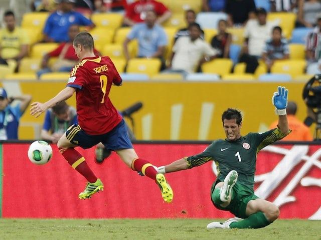 Result: Spain hit double figures against Tahiti
