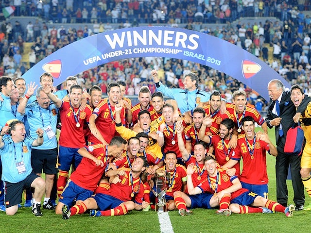 Result: Spain crowned Under-21 Euro champions